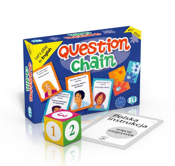 angielska gra Question Chain